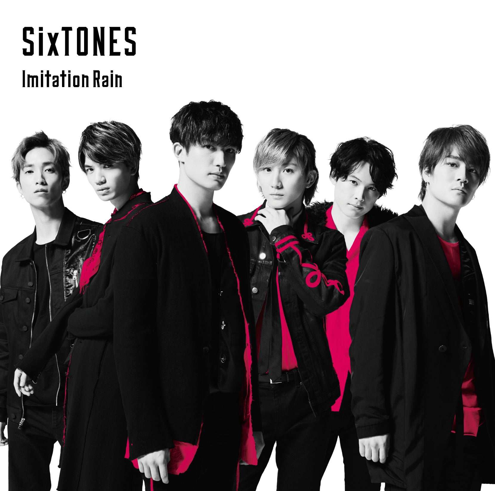 SixTONES Yoshiki Imitation Rain
