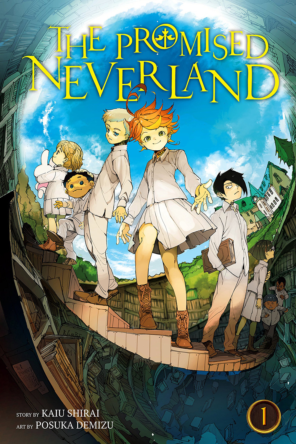 Promised Neverland Manga Volume 1