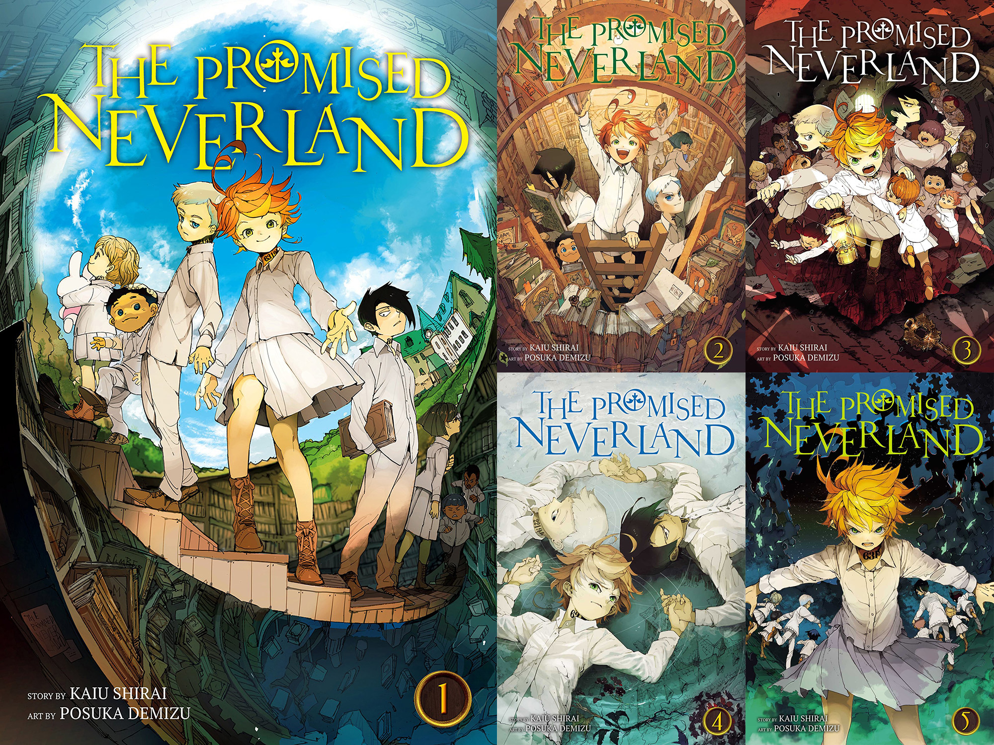 Promoised Neverland review Vol 1-5