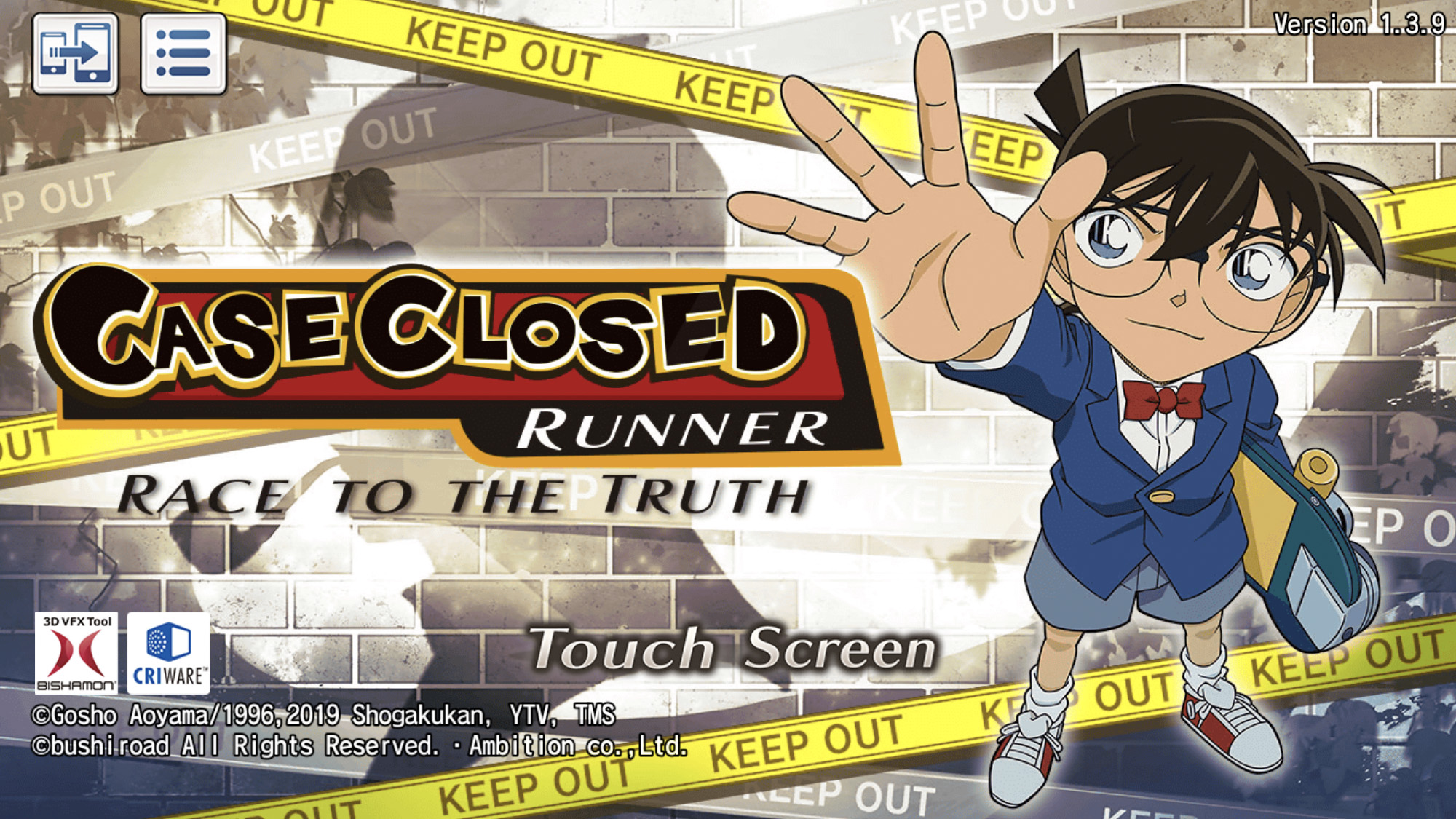 Case Closed Runner Detective Conan