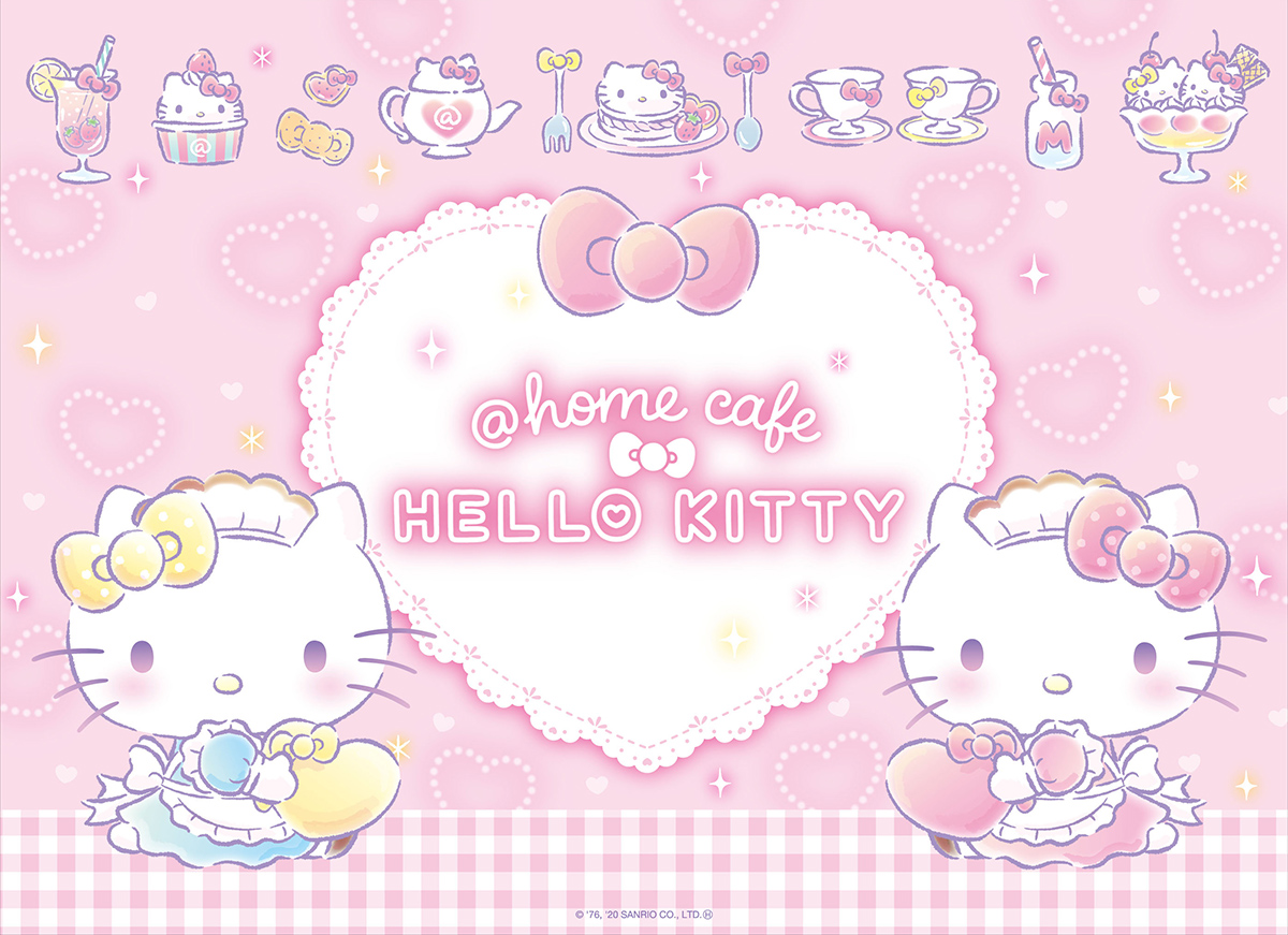 at home cafe Hello Kitty 2020