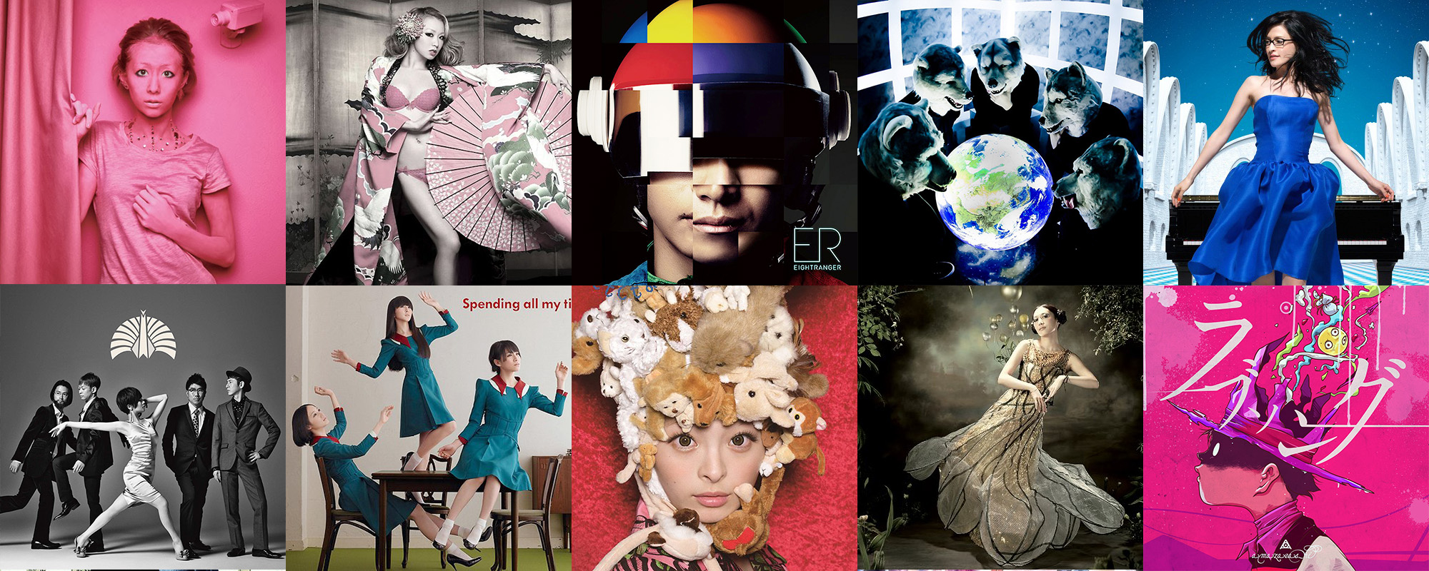 Best J-Pop J-Rock album covers 2012