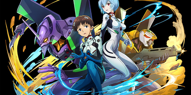 Puzzle and Dragons Evangelion Shinji Rei