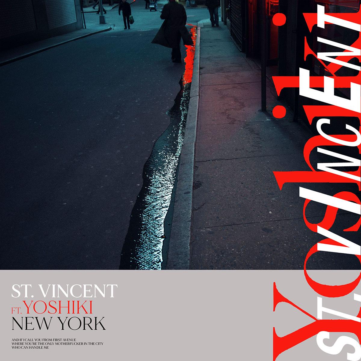 St. Vincent Yoshiki New York