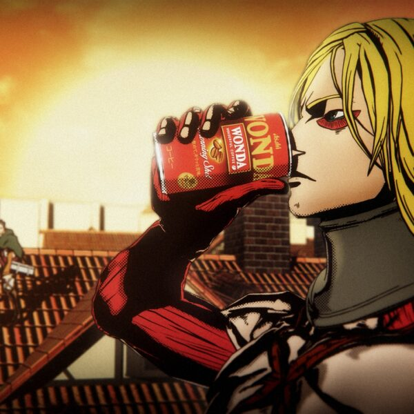 Attack on Yoshiki commercial