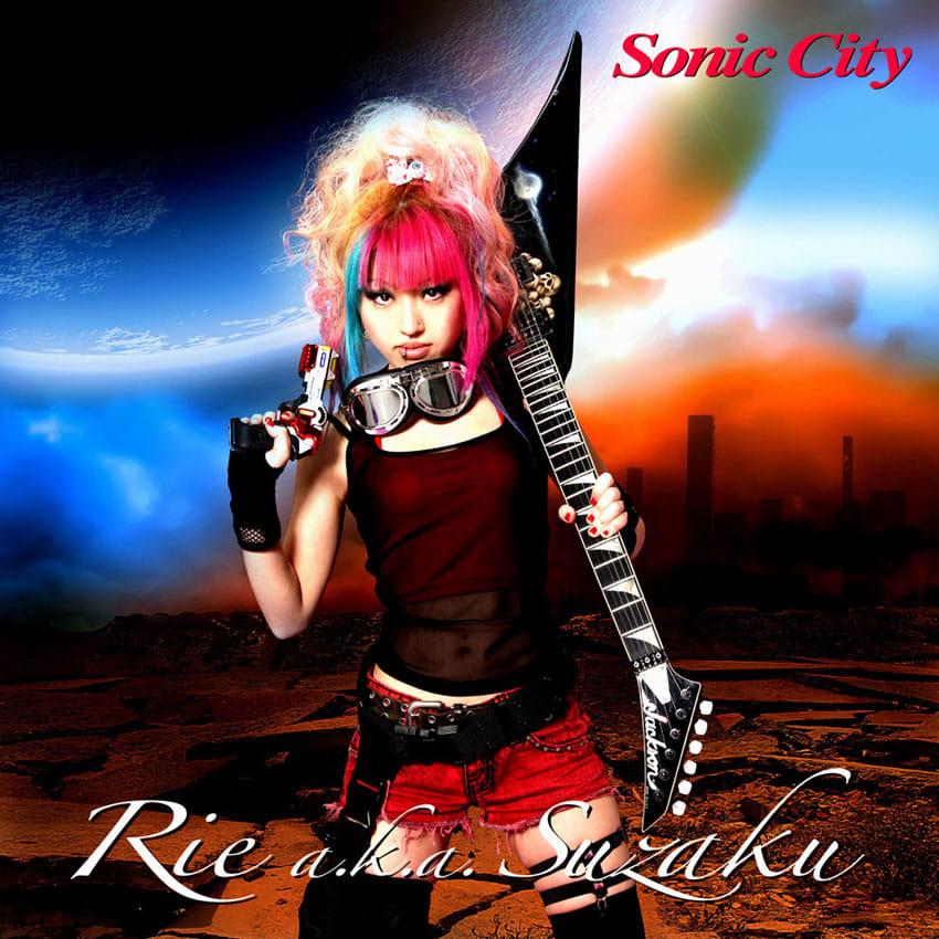 Rie a.k.a. Suzaku - Sonic City