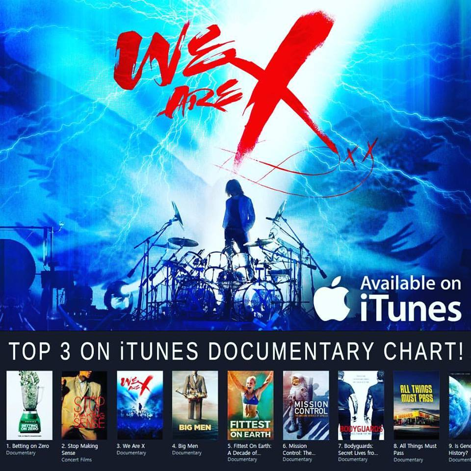 We are X iTunes Top 3 Documentary